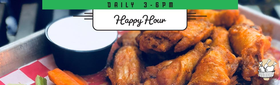 Spanky's Roadhouse | Happy Hour Wings